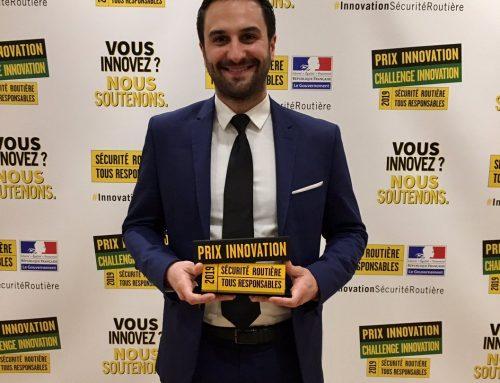 Lauréat d'un prix national Innovation Sécurité Routière